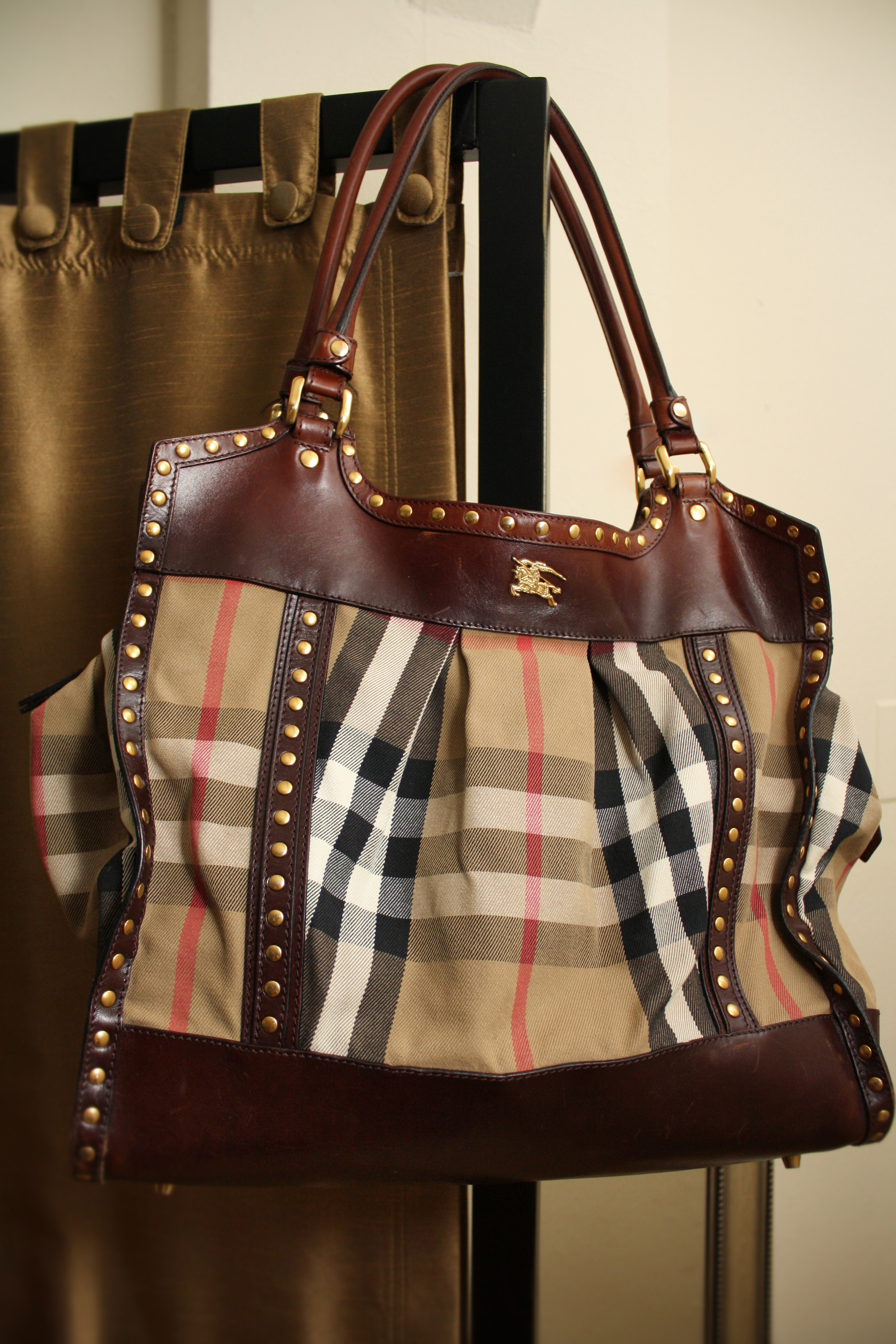 blast from the past burberry prorsum large bridle tote