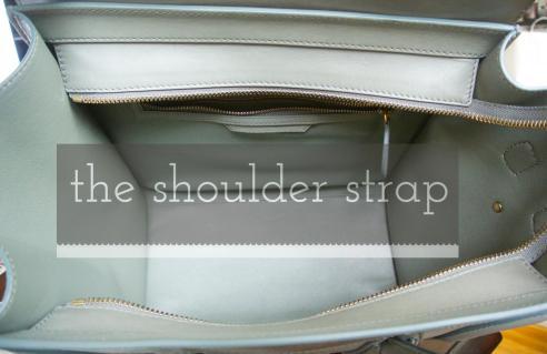0d28187792c9 Dream Céline  Mini Luggage Tote in Almond — The Shoulder Strap